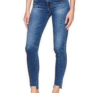 The Farrah Skinny Ankle-repurposed Jeans AG